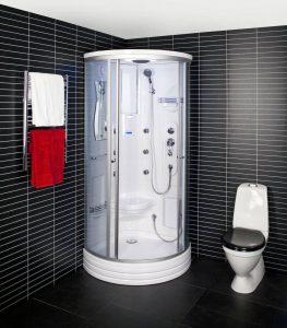 Tvaika dušas kabīnes