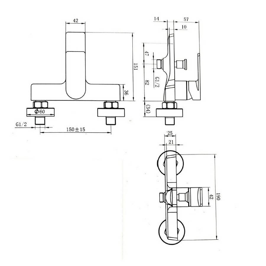 Vannas maisītājs RIVER 928-10