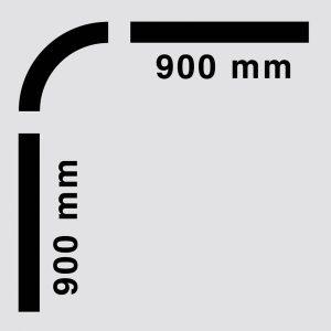Dušas aizkaru stanga 672-20